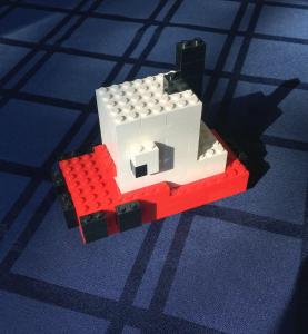 Lego Tugger! - Courtesy Mr. Shiny and New